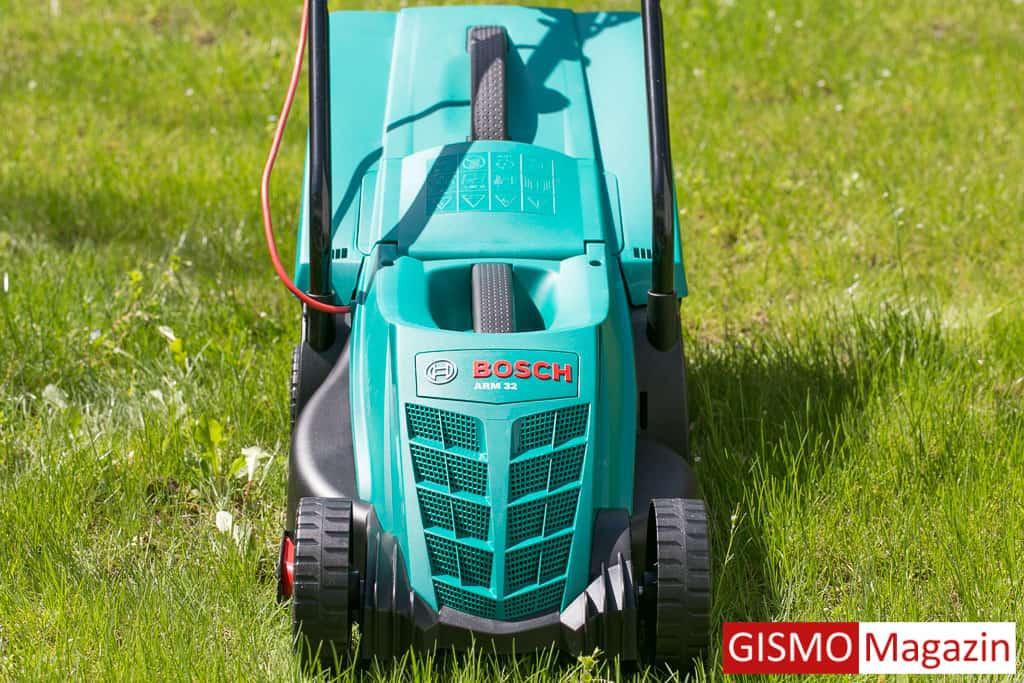 Gut gemocht Bosch Elektro-Rasenmäher ARM 32 im Test - Erfahrungsbericht QX13