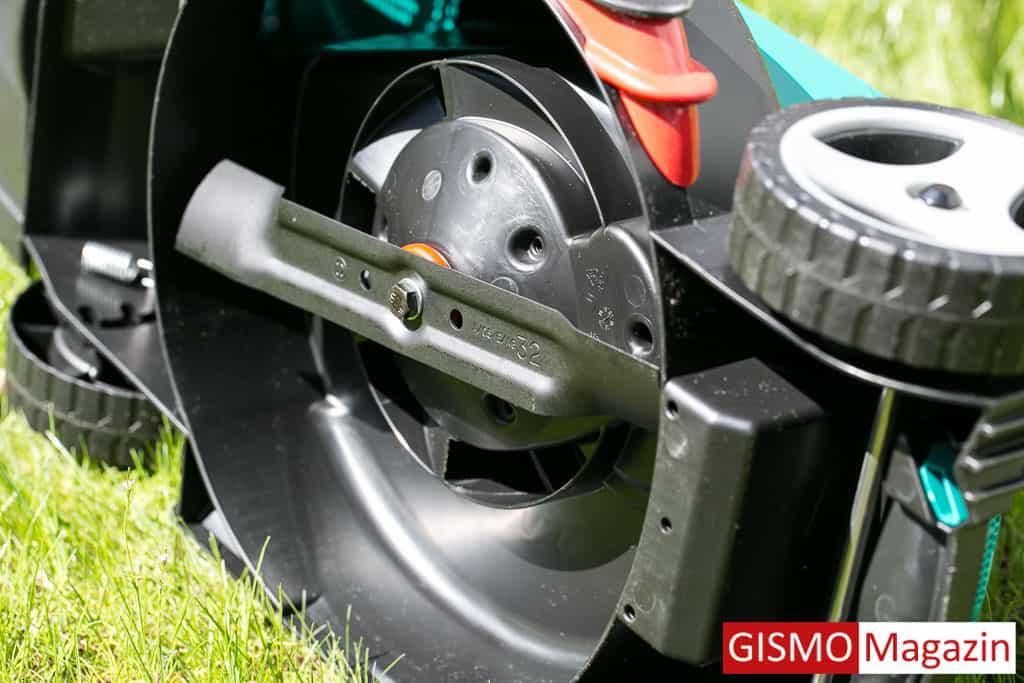 Bosch ARM 32 Rasenmäher Unterseite